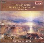 Hermann Goetz, Heinrich Schulz-Beuthen: Piano Music