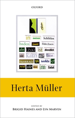 Herta Muller - Haines, Brigid (Editor), and Marven, Lyn (Editor)