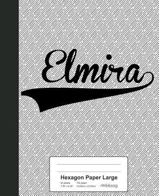 Hexagon Paper Large: ELMIRA Notebook - Weezag