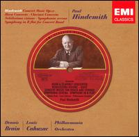 Hindemith: Concert Music; Horn Concerto; Clarinet Concerto and others - Dennis Brain (horn); Louis Cahuzac (clarinet); Philharmonia Orchestra; Paul Hindemith (conductor)