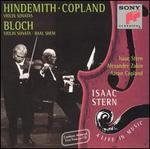 Hindemith, Copland: Violin Sonatas; Bloch: Violin Sonata; Baal shem