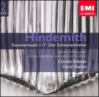 Hindemith: Kammermusik 1-7; Der Schwanendreher - Georg Faust (cello); Kolja Blacher (violin); Lars Vogt (piano); Tabea Zimmermann (viola); Wayne Marshall (organ);...