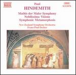 Hindemith: Mathis der Maler Symphony; Nobilissima Visione; Symphonic Metamorphosis