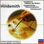 """Hindemith: Symphonie """"Mathis der Maler""""; Symphonische Metamorphosen; Violinkonzert"""