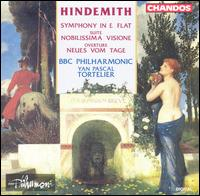 Hindemith: Symphony in E flat; Nobilissima Visione; Neus vom Tage - BBC Philharmonic Orchestra; Yan Pascal Tortelier (conductor)