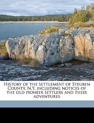 History of the Settlement of Steuben County, N. Y.: Including Notices of the Old Pioneer Settlers and Their Adventures - McMaster, Guy Humphrey