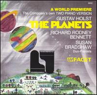 Holst: The Planets - Richard Rodney Bennett (piano); Susan Bradshaw (piano)