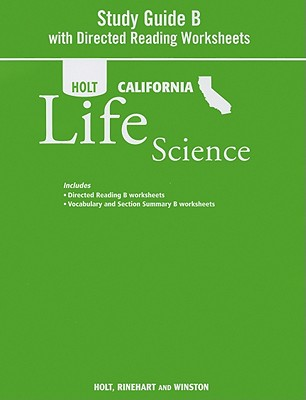Holt California Life Science Study Guide B With Directed