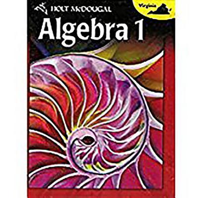 Holt McDougal Algebra 1: Student Edition 2012 - Holt McDougal (Prepared for publication by)