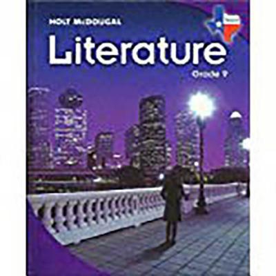 9780547115788 Holt McDougal Literature Texas Student