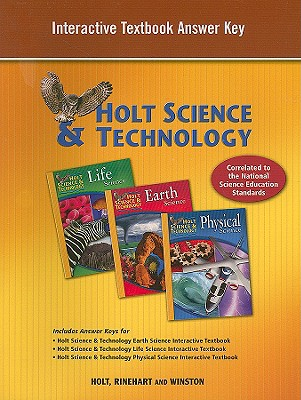 Holt science technology interactive textbook answer key book by holt science technology interactive textbook answer key holt rinehart winston creator fandeluxe Gallery