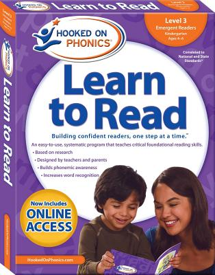 Hooked on Phonics Learn to Read - Level 3: Emergent Readers (Kindergarten - Ages 4-6) - Hooked on Phonics (Producer)