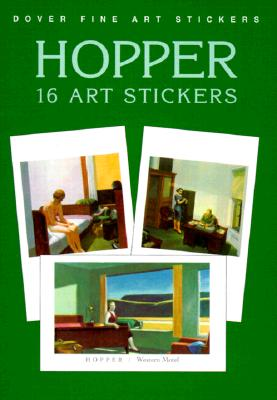 Hopper: 16 Art Stickers - Hopper, Edward