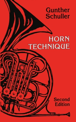 Horn Technique - Schuller, Gunther