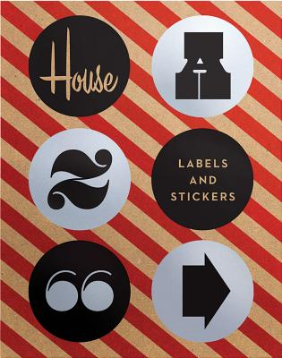House Industries Labels & Stickers: Over 299 Typographic Stickers for Decor and Design - House Industries