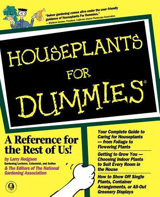 Houseplants for Dummies - Hodgson, Larry, and National Gardening Association