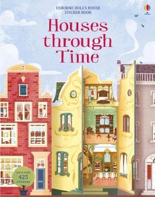 9781474936651 Houses Through Time Sticker Book Struan Reid