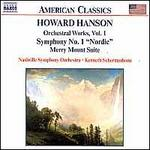 Howard Hanson: Orchestral Works, Vol. 1