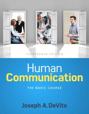 Human communication the basic course book by joseph a devito 19 human communication the basic course devito joseph a fandeluxe Choice Image