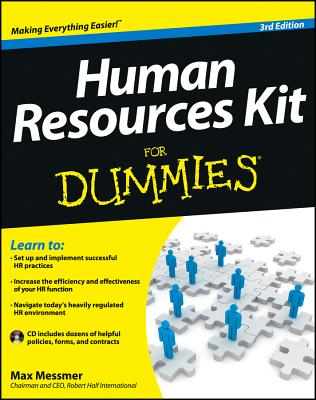 Human Resources Kit for Dummies - Messmer, Max