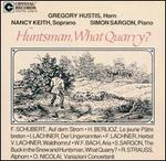 Huntsman, What Quarry?