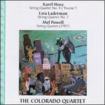 Husa: String Quartet No. 4; Landerman: String Quartet No. 7; Powell: String Quartet