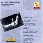 Hyppolite Belhomme: The Rare Recordings (1905-1907)