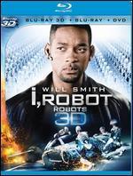 I, Robot [3D] [Blu-ray/DVD]