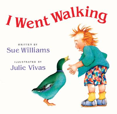 I Went Walking: Lap-Sized Board Book - Williams, Sue