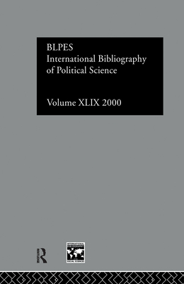 Ibss: Political Science: 2000 Vol.49 - British Library