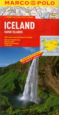 Iceland Marco Polo Map -