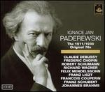 Ignace Jan Paderewski: The 1911 / 1930 Original 78s