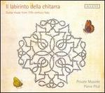 Il Labirinto dello chitarra: Guitar music from 17th-century Italy