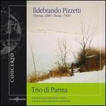Ildebrando Pizzetti: Sonatas for Piano & Violin
