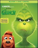 Illumination Presents: Dr. Seuss' The Grinch [Includes Digital Copy] [Blu-ray/DVD] - Scott Mosier; Yarrow Cheney