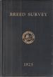 Breed Survey, Shepherd Dog Club of America, Inc., Vol. I