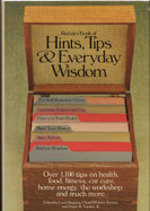 Rodale's Book of Hints, Tips, and Everyday Wisdom