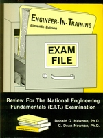 Engineer in Training Exam File-Exam File Series-Eleventh Edition