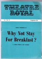 Why Not Stay for Breakfast? (Theatre Programme)