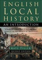 English Local History: an Introduction (History Handbooks)