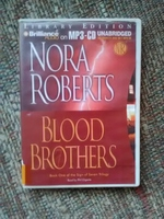 Blood Brothers, by Nora Roberts, Read by Phil Gigante, Unabridge, 1MP3-CD