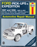 Ford Pickups & Expedition: Lincoln Navigator Automotive Repair Manual (Haynes Automotive Repair Manual Series)