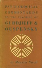 Psychological Commentaries on the Teachings of Gurdjieff and Ouspensky: Volume 5