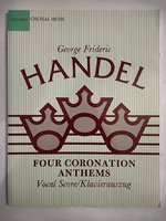 Four Coronation Anthems: Vocal Score (Classic Choral Works)