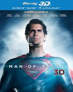 Man of Steel [2 Discs] [Includes Digital Copy] [3D] [Blu-ray]