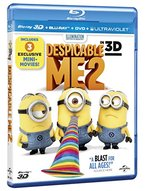 Despicable Me 2 in 3D [2 Discs] [Includes Digital Copy] [UltraViolet] [3D] [Blu-ray]