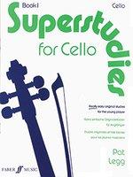 Superstudies for Cello, Bk 1