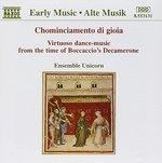 Chominciamento di gioia: Virtuoso dance-music from the time of Boccaccio's Decamerone