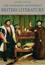 Longman Anthology of British Literature, Volume 1b, the: the Early Modern Period