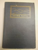 Stowe Notes Letters and Verses